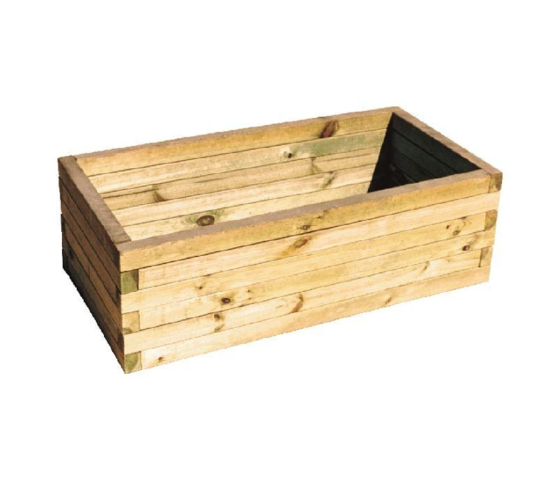 Tiestos de madera amazing los del hogar de reparalia - Tiestos de madera ...