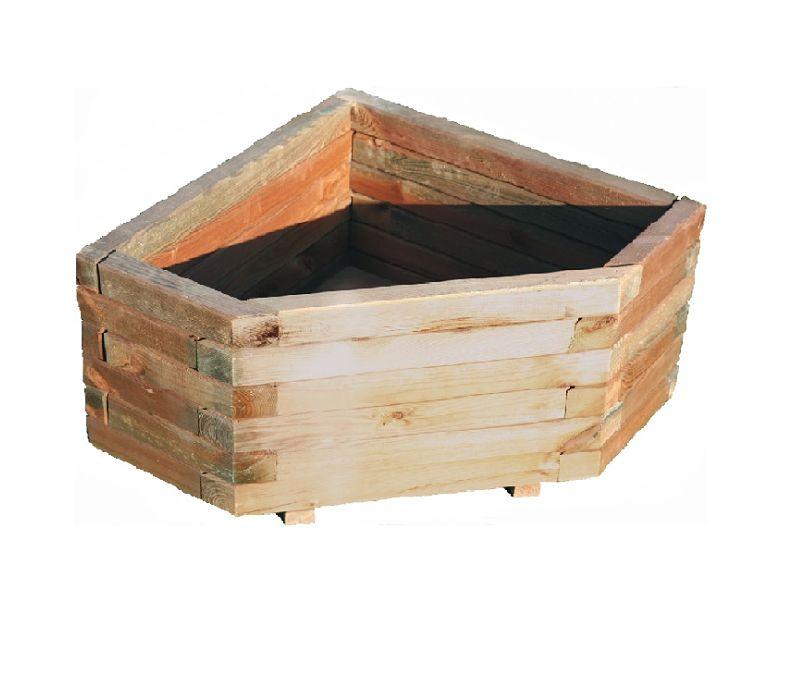 Maceteros madera exterior pintar con esmalte exterior - Maceteros de madera ...