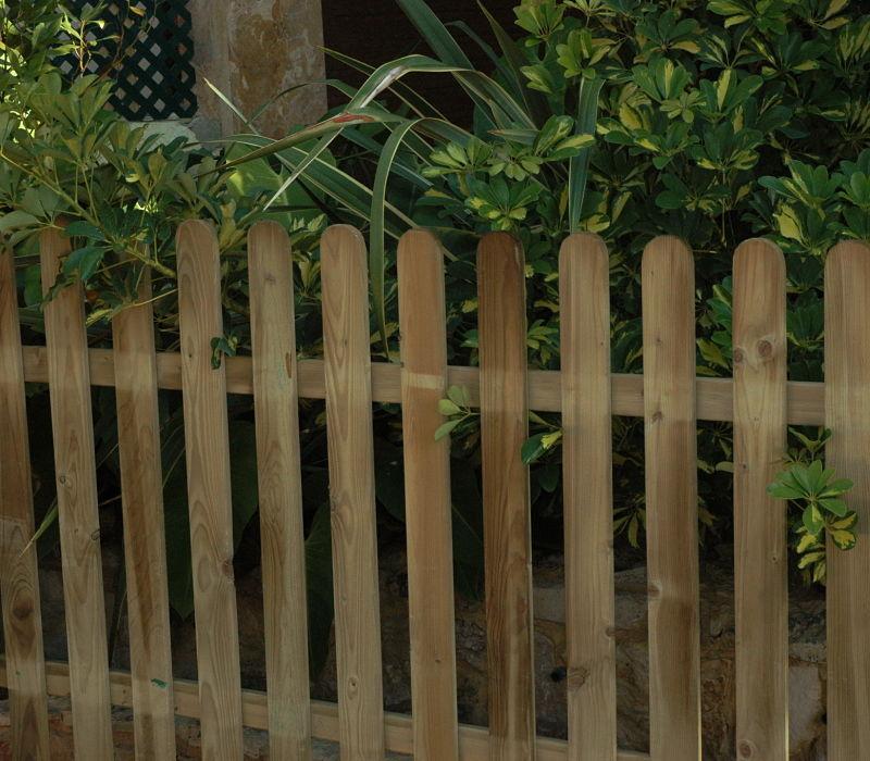 Vallas de madera de segunda mano simple vallas metlicas batestacas vallas de madera with vallas - Vallas jardin antiruido ...