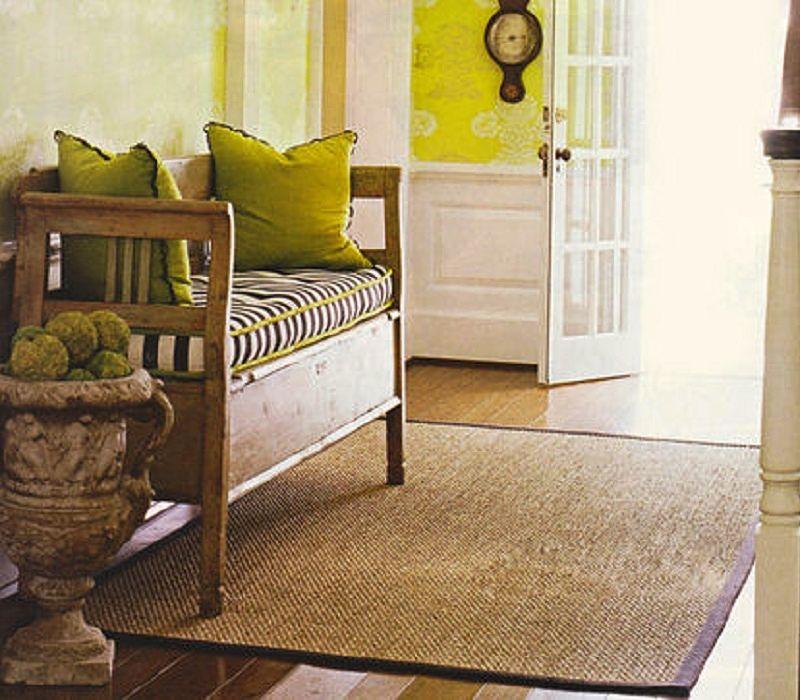 Faura alfombras de bamb - Alfombra de bambu ...