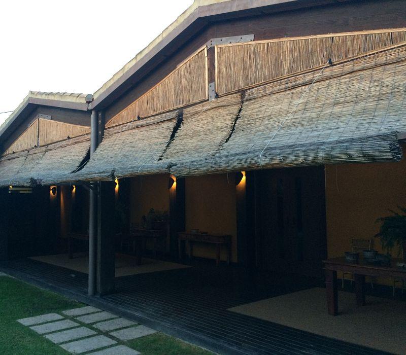 Estores de exterior janela exterior estores de rolo com controle automtico janela exterior - Estores de bambu para exterior ...